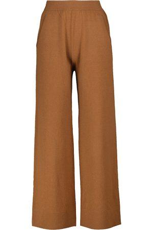 Jardin des Orangers Wool and cashmere pants