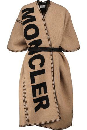 Moncler Wool-blend poncho
