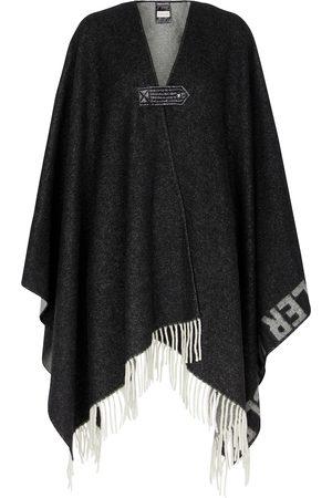 Moncler Wool-blend blanket cape