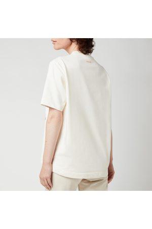 Holzweiler Women T-shirts - Women's Kjerag Peach Print T-Shirt