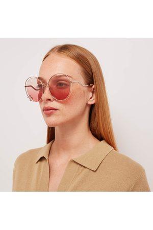 Chloé Women Round - Women's Wendy Round Frame Sunglasses