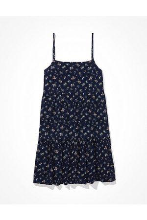American Eagle Outfitters Square-Neck Babydoll Mini Dress Women's XXS
