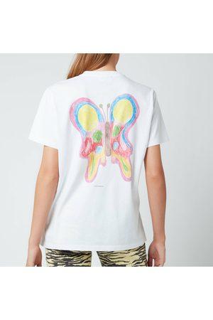 Ganni Women's Basic Cotton Jersey T-Shirt
