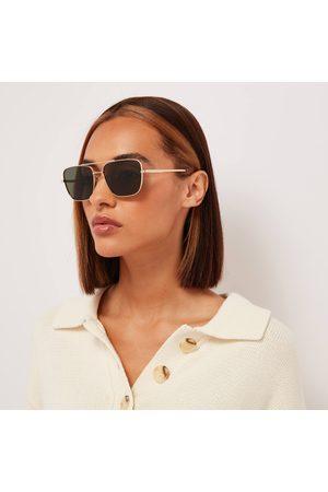 Le Specs Women's Hercules Square Sunglasses