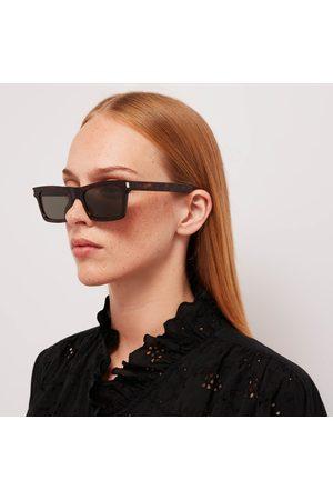 Saint Laurent Women's Betty Regtangular Acetate Sunglasses