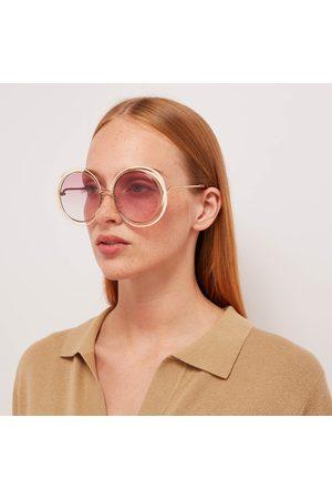 Chloé Women's Carlina Round Sunglasses
