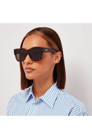 Le Specs Women Square - Women's Total Eclipse Square Sunglasses