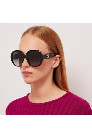 Gucci Women Round - Women's Round Acetate Sunglasses