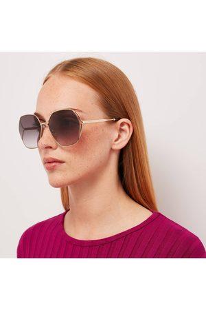 Gucci Women's Metal Frame Sunglasses