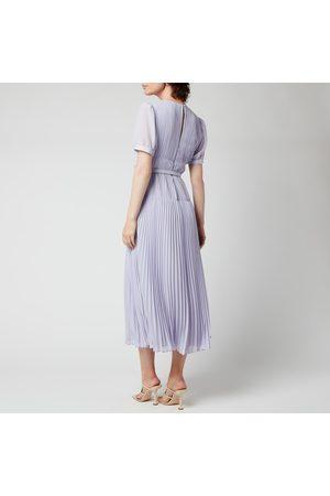 Self-Portrait Women's Chiffon Midi Dress