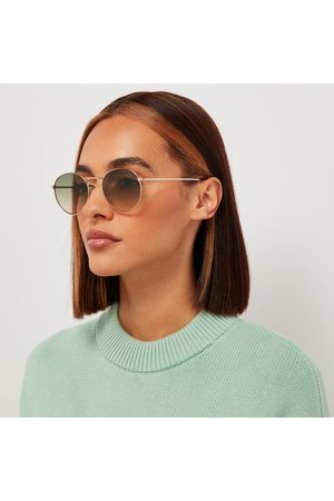 Tom Ford Women Round - Women's Round Frame Sunglasses