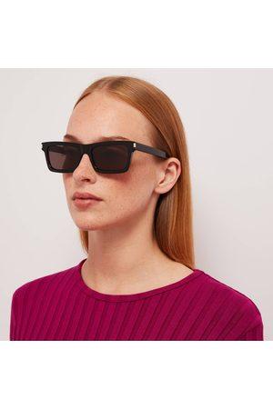 Saint Laurent Women Sunglasses - Women's Betty Rectangluar Acetate Sunglasses