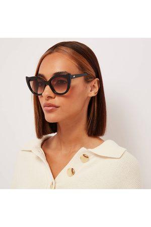 Le Specs Women's Flossy Cat Eye Sunglasses