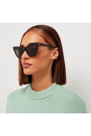 Saint Laurent Women's Cat Eye Acetate Sunglasses