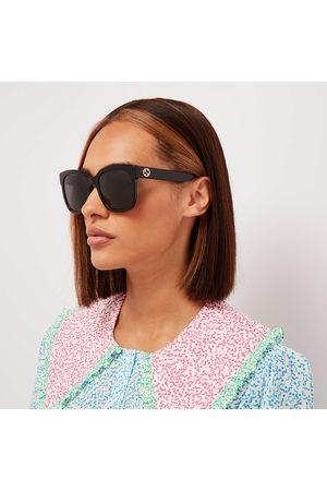 Gucci Women Square - Women's Square Acetate Sunglasses