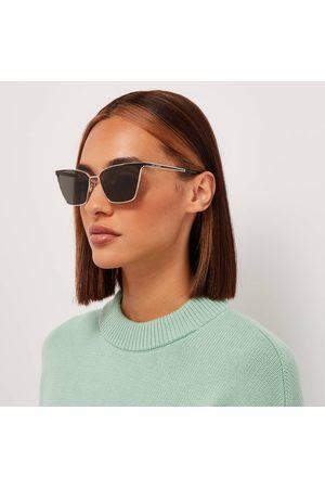 Saint Laurent Women Sunglasses - Women's Metal Cat Eye Sunglasses