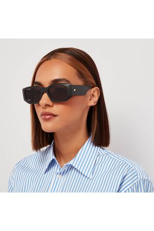 Le Specs Women Sunglasses - Women's Grass Half Full Oval Sunglasses