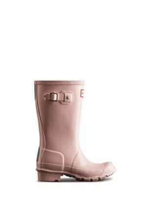 Hunter Rain Boots - Original Big Kids Gloss Rain Boots