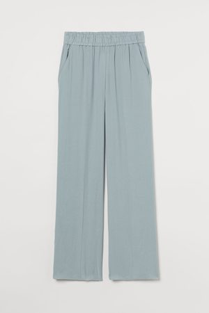 H&M Wide-leg Pull-on Pants