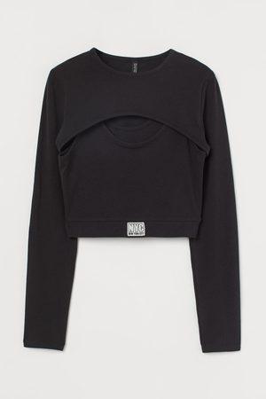 H&M Two-part Crop Top