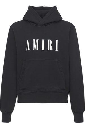 AMIRI Men Hoodies - Core Logo Cotton Jersey Hoodie