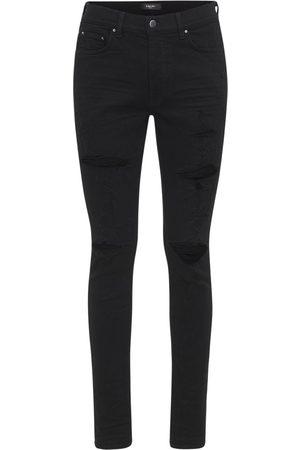 AMIRI 15cm Thrasher Plus Cotton Denim Jeans