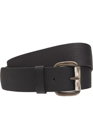 Diesel 40mm B-rolly Textured Leather Belt