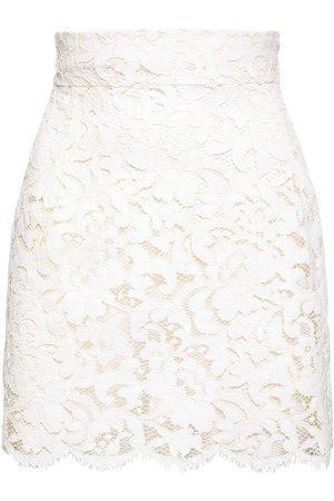 Dolce & Gabbana Crochet Lace Mini Skirt