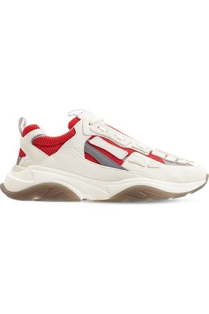 AMIRI Men Sneakers - Bones Runner Low-top Suede Sneakers