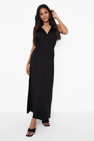 Boohoo Womens Shirred Sleeveless Maxi Dress - - 4