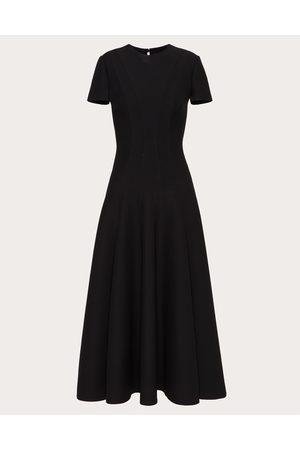 VALENTINO Crepe Couture Dress Women Silk 35%, Virgin Wool 65% 38