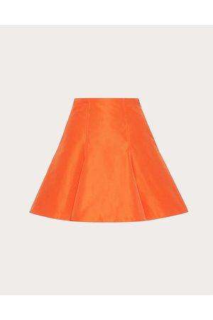 VALENTINO Micro Faille Mini Skirt Women 54% Cotton 46% Polyester 36