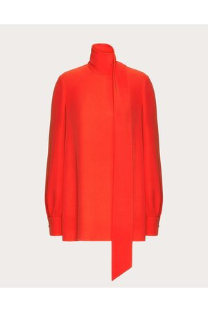 VALENTINO Cady Couture Top Women Silk 100% 36
