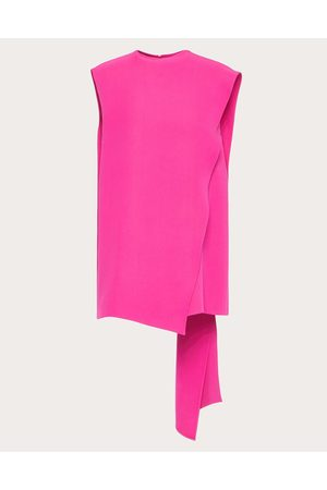 VALENTINO Cady Couture Top Women Petunia Silk 100% 38