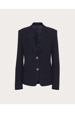VALENTINO Women Blazers - Cady Couture Blazer Women Navy Silk 100% 36