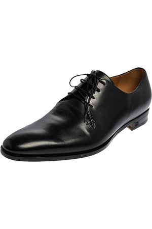 Gucci Leather Lace Up Derby Size 45