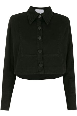 Andrea Bogosian Cropped denim jacket