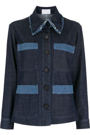 Andrea Bogosian Women Denim Jackets - Patchwork denim jacket
