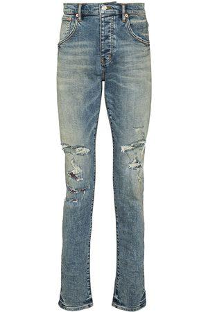 Purple Brand Repair distressed skinny jeans