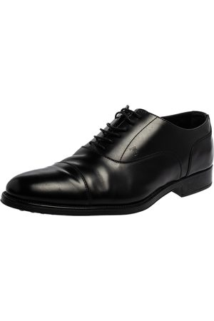 Tod's Leather Lace Up Oxfords Size 45