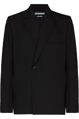 Jacquemus Off-centre button blazer