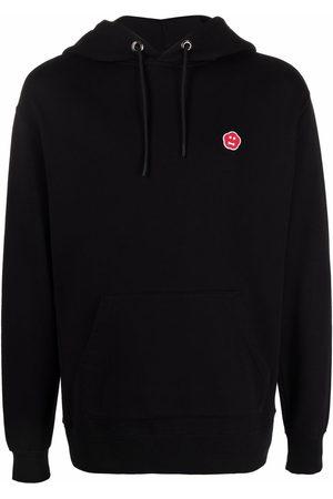 Aspesi Men Hoodies - Logo-patch cotton hoodie