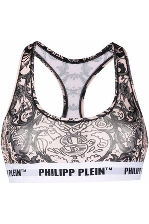Philipp Plein Women Bras - New Baroque print bra