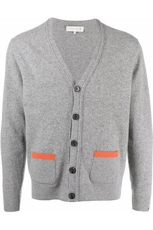 Mackintosh Men Cardigans - Field wool cardigan - Grey