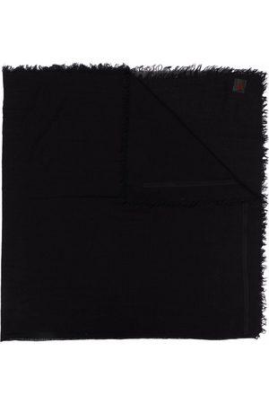 Ann Demeulemeester Scarves - Frayed-hem knit scarf