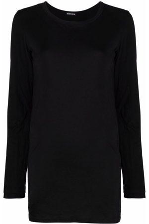ANN DEMEULEMEESTER Longline long-sleeve T-shirt