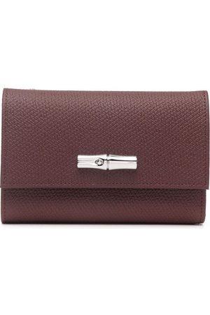 Longchamp Women Wallets - Roseau leather wallet