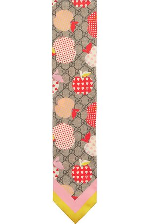 Gucci Women Scarves - GG Supreme silk scarf