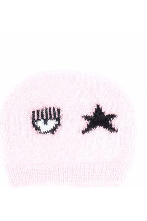 Chiara Ferragni Kids Logo-print knitted beanie