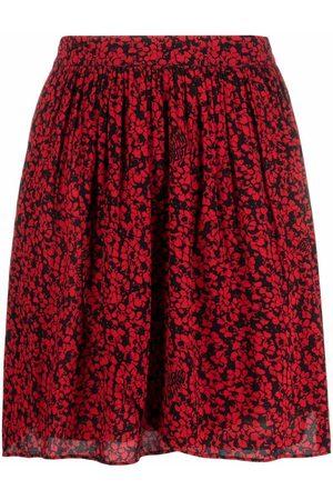Zadig & Voltaire Floral-print mini skirt